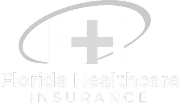 Florida Health Insurance Logo White